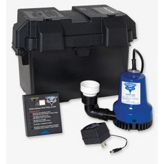 Battery Powered Sump Pumps, Watchdog